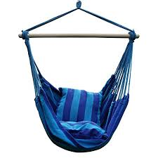 blissun mayan hammock chair hanging swing chair with two cushions