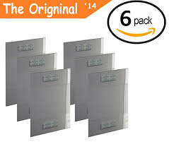wall mounted sign holder amazon com t u0027z tagz the original 6 pack of wall mount 8 5 x 11