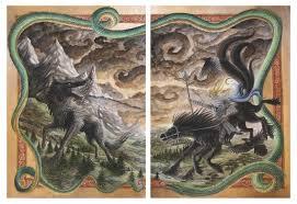 ragnarök twilight of the gods full hd wallpaper and background