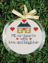 yarn tree ornament frame 123stitch