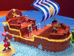 jake and the neverland birthday cobo bucky the pirate ship cake jake and the neverland