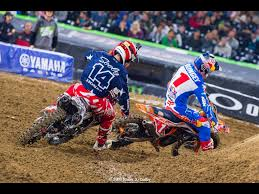 live motocross racing san diego 2 sx 2016 cole seely comes in 2nd behind the amazing
