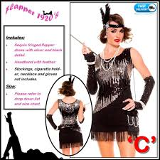 1920 flapper gatsby gangster charleston 1920s chicago fancy dress