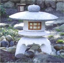 Japanese Garden Lamp by Japanese Stone Garden Lanterns