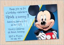 mickey mouse invitation templates u2013 29 free psd vector eps ai