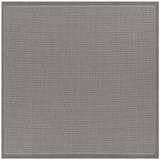 Square Indoor Outdoor Rugs Gray Square Solid Gradient Outdoor Rugs Rugs The Home Depot