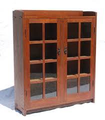 Voorhees Craftsman Mission Oak Furniture Cabinets