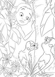 jewel playing hard blu rio movie coloring pages