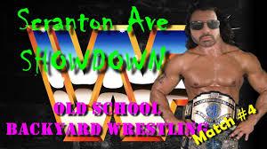 old backyard wrestling match 4 scranton ave showdown