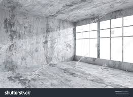 interior concrete walls abstract architecture concrete room interior empty stock