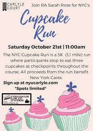 cupcake run u2014 carlyle court
