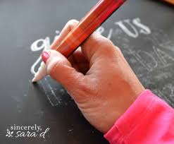how to write your name in graffiti letters on paper diy perfect chalkboard lettering sincerely sara d this post contains some affiliate links for your convenience click here to read my full disclosure policy