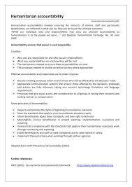 humanitarian operational environment logistics operational guide