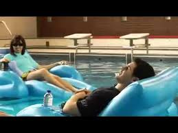 Motorized Pool Chair Motorized Water Lounge Chair M Youtube