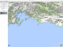 Alaska Map Google by Airborne Glacial Silt From The Copper River Valley In Alaska
