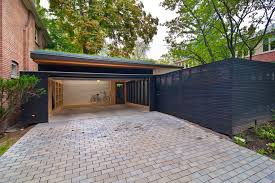 Attached Carports Toronto Attached Carport Plans Garage Modern With Wood Panel Door