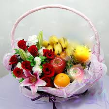 fruit flowers baskets fruit basket fruits gift get well fruits basket new born