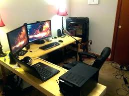 Custom Gaming Desks L Desks For Gaming Kgmcharters