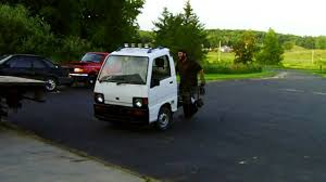 1992 subaru sambar subaru sambar wheelbarrow youtube