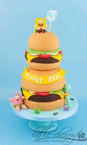 spongebob cake ideas spongebob cakes cupcakes design ideas on craftsy