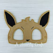 Halloween Party Favor Ideas by Pokemon Evie Felt Mask Fancy Dress Up Halloween Party Favor Evee