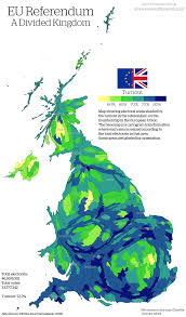 Leeds England Map by The Eu Referendum Views Of The World