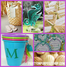 mermaid party supplies mermaid party ideas party on purpose