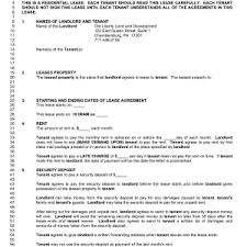apartment lease templates masir