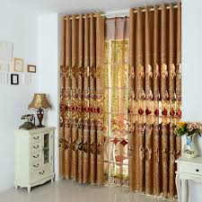Designer Window Curtains 2016 China Supplier Selling New Modern Embrioded Designs