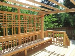 Deck Pergola Ideas by 17 Best Deck Ideas Images On Pinterest Home Gardening And