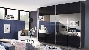 Schlafzimmerschrank Grau Saligo Grau Spiegel Synchronauszug 270