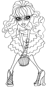 monster high coloring books 133 best stempels monster high images on pinterest