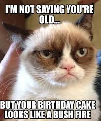 Meme Birthday Cake - you re old birthday cakes meme maker i m not saying you re old