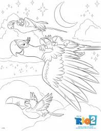rio 2 coloring pages download 2