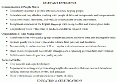 Resume Title Examples Customer Service Download Resume Samples For Customer Service