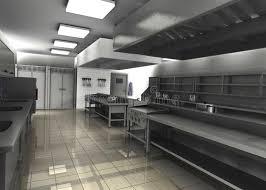 cuisine professionnelle cuisine professionnelle de restaurant videz illustration stock