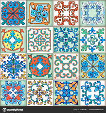 moroccan wrapping paper collection seamless patchwork pattern from moroccan portuguese