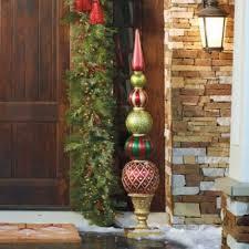 weihnachtliche deko ideen außen kugel esferas navideñas