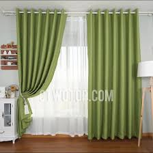 Curtains With Green Decorative Living Room Bright Green Blackout Curtains