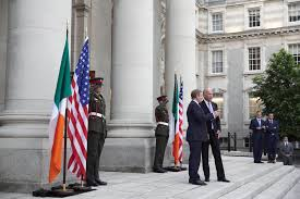 Flag Makers Ireland Vice President Joe Biden Touches Down In Ireland U2013 Ancestry Blog