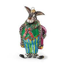 mackenzie childs bunny o hare ornament gump s