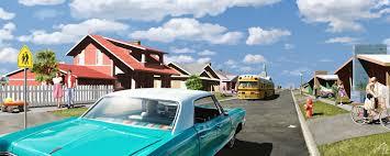 jason bartlett 1950 u0027s sunny suburbia