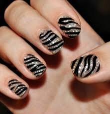 cheetah print design nails images nail art designs