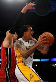 Barnes Los Angeles Matt Barnes Los Angeles Lakers Keith Middlebrook Pro Sports