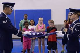 Fold Flag Military Style Boot Camp At The Youth Center U003e Minot Air Force Base U003e Article Display