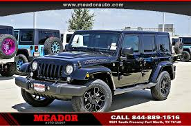 jeep smoky mountain white new 2017 jeep wrangler unlimited sahara 4x4 suv fort worth tx