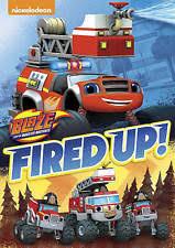 blaze monster machines fired dvd 2016 ebay