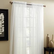 Cream And White Curtains Interior Cream Crest Home Design Curtains With Small White Wooden