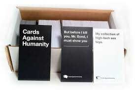 cards against humanity reject pack study cards against humanity kickstarter