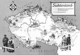 Czechoslovakia Map Sudetenland Map By Arminius1871 On Deviantart